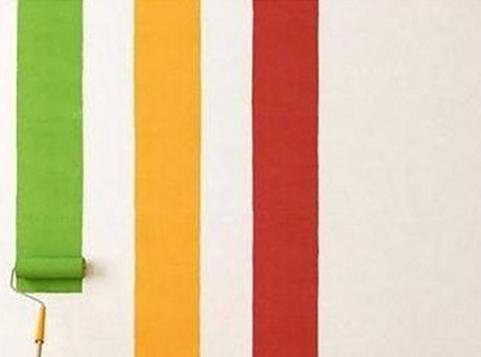 Recubrimiento de materiales de pintura